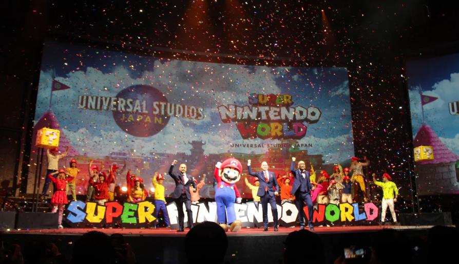 Тематический парк Super Nintendo World может расшириться за пределы Марио в будущем